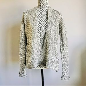 Anthropologie Cloth knit open front cardigan sweater size S